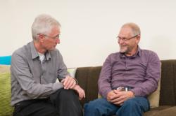 two old man talking